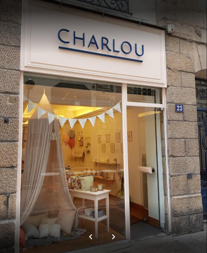 La boutique Charlou à Nantes