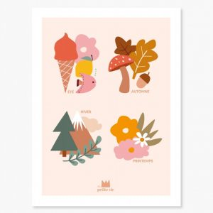affiche, papeterie, decoration, home, charlou, concept store